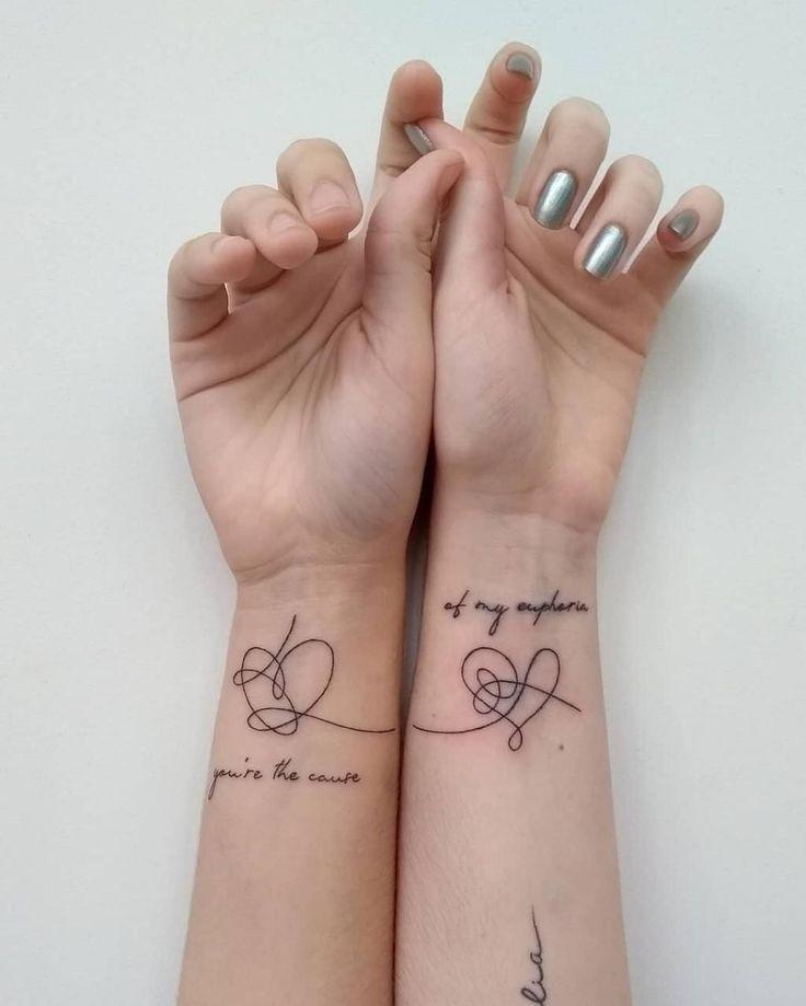 imagem descoberto por Aida Koshmagambetova. Descubra (e salve!) suas próprias imagens e vídeos no We Heart It in 2020 | Bts tattoos, Kpop tattoos, Tattoos