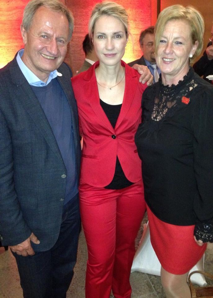 Mit Friedhelm-Julius Beucher und Manuela Schwesig