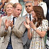 In July 2016, the pair chatted among themselves while watching Andy Murray take on Milos Raonic at the men's final of the Wimbledon Tennis Championships.