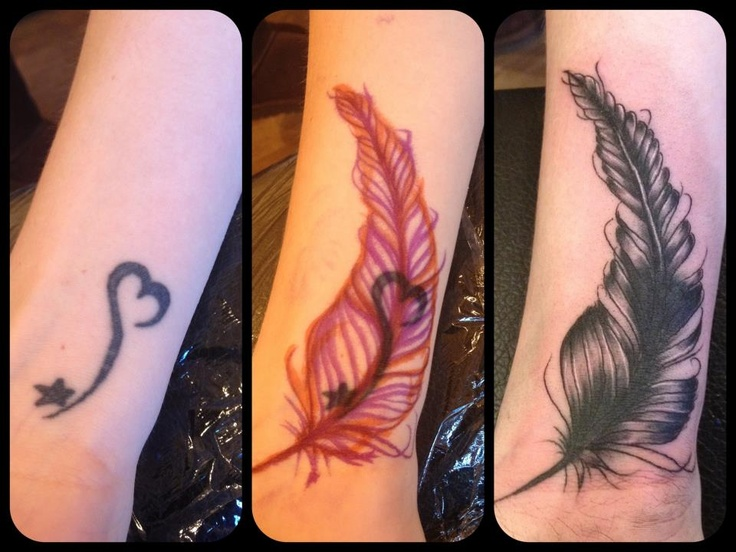 cover up feather