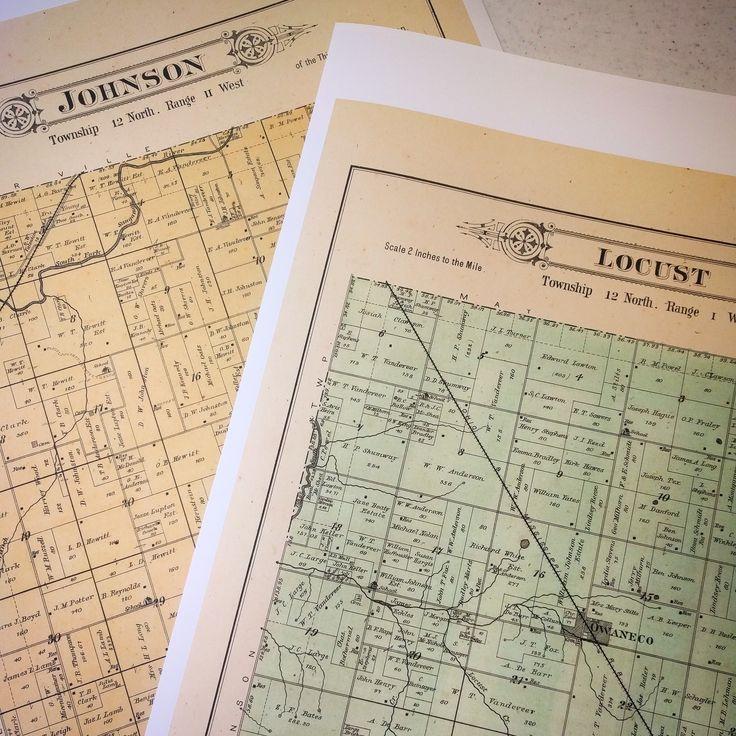 We have lots of township maps like
