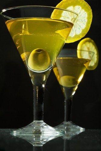 Мартини с оливкой