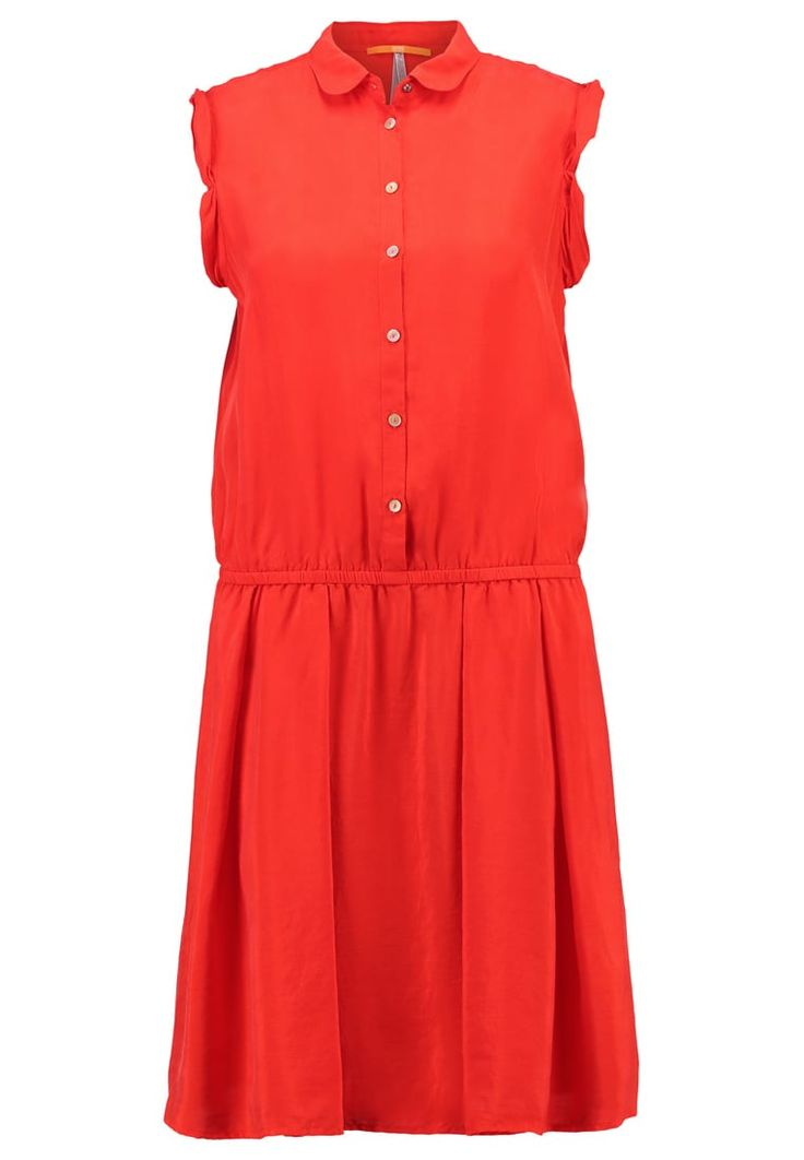 BOSS Orange CLACE Blusenkleid rot Premium bei Zalando.de   Material Oberstoff: 100% Seide   Premium jetzt versandkostenfrei bei Zalando.de bestellen!