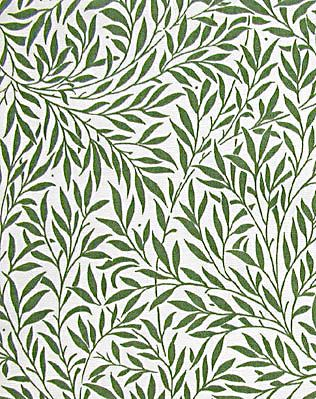Willow wallpaper, william morris