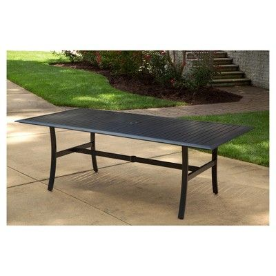 Patio Dining Rectangle Table Basic Brown - Agio