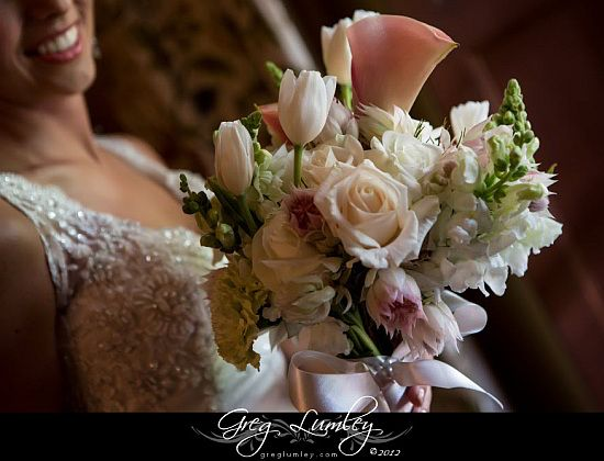 Elegant Bridal Flowers by Greg Lumley in Cape Town
