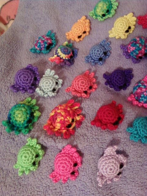 Crabs [ Free Crochet Pattern ] More