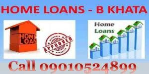 b khata loans in bangalore