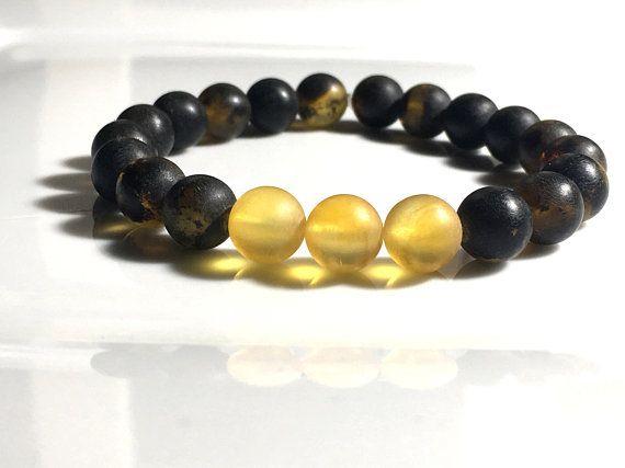 Mens amber bracelet, amber gift for men, Amber Mens Bracelet, Amber Bracelet, Men's Bracelet, Men's Jewelry, Amber Jewelry for Men, amber