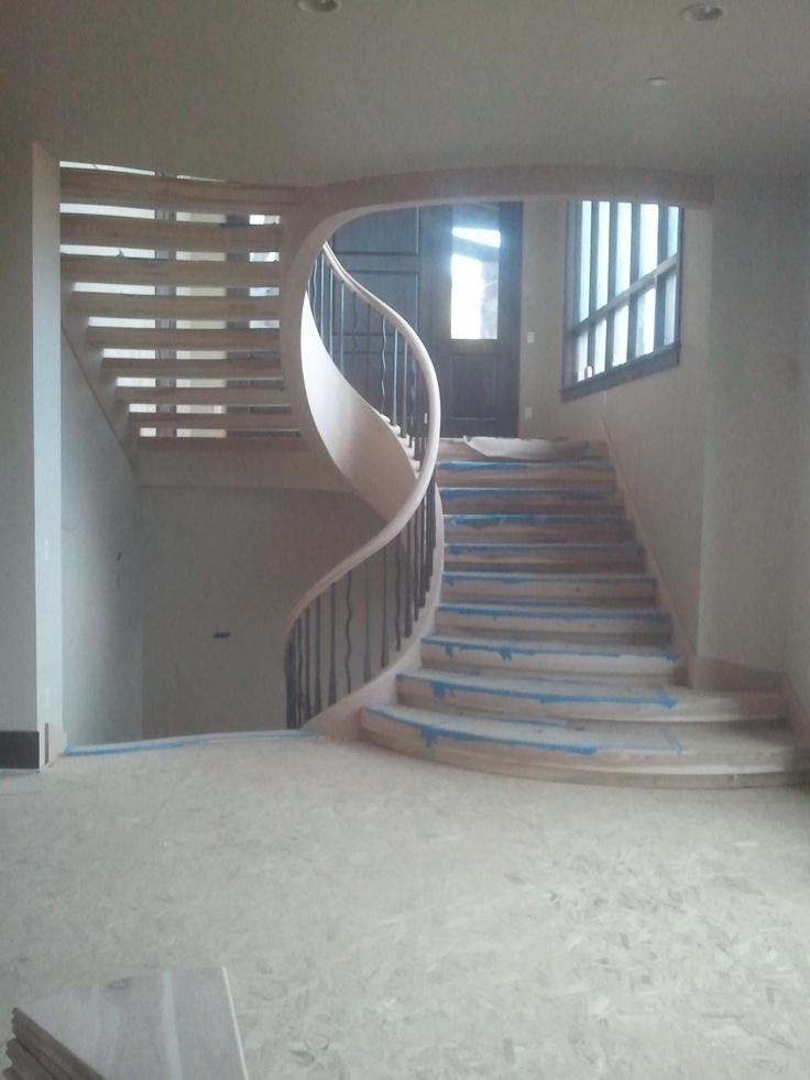 Best Eliptical Staircase Split Level Home Improvement Pinterest Staircases 400 x 300