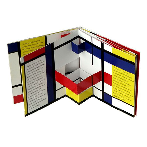 DE STIJL Pop-Up Book on Behance