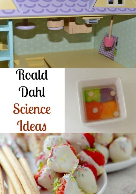 Roald Dahl activity ideas: there are some very imaginative activities described on this website.