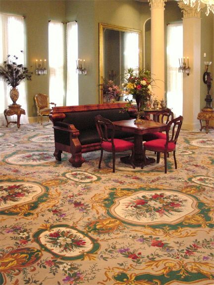 7099 20 maylott medallion wilton carpet c 1870 at white hall richmond