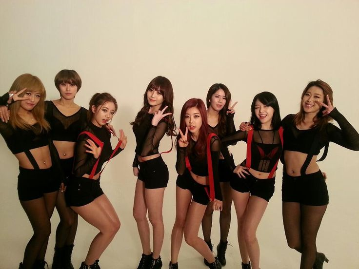 Girl's Day with 'Hotchicks' Dance Team @ Expectation MV Filming
