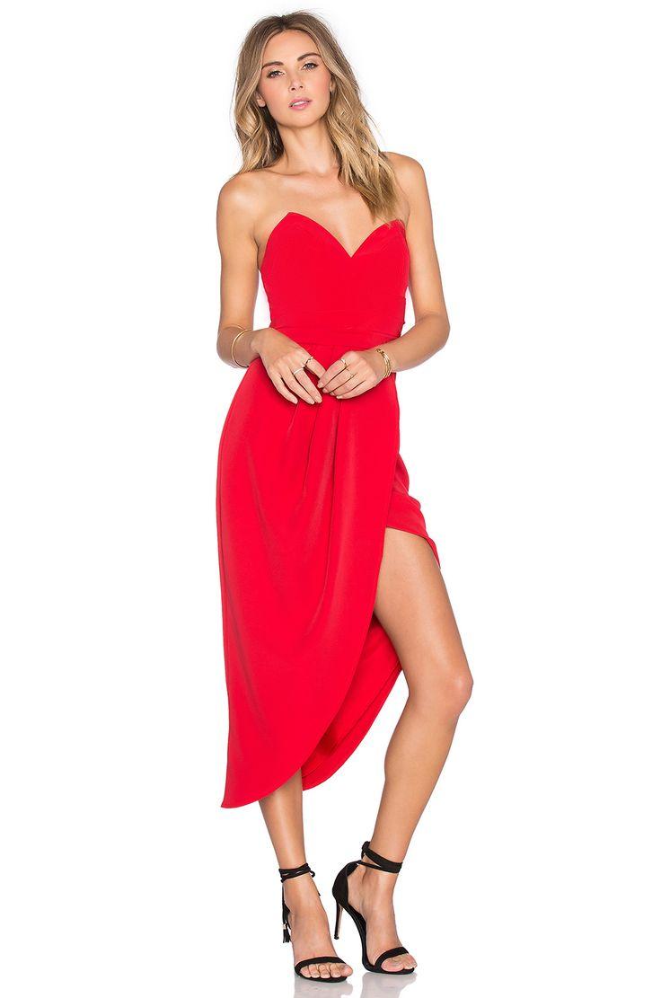 Red dress revolve energy