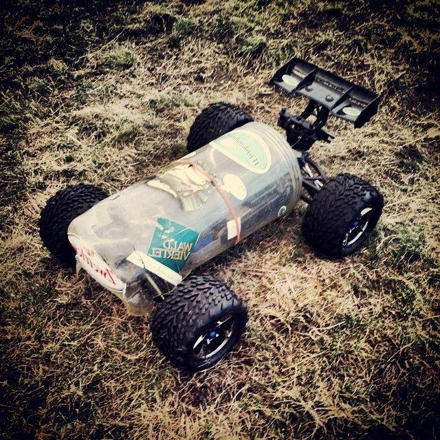 This is a fancy E-revo body #traxxas #erevo #e-revo #6s #monstertruck #mt #fancy #body
