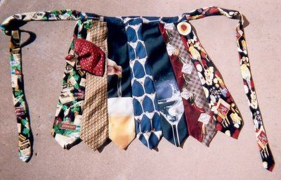 recycled apron--Tie One On | Flickr - Photo Sharing!