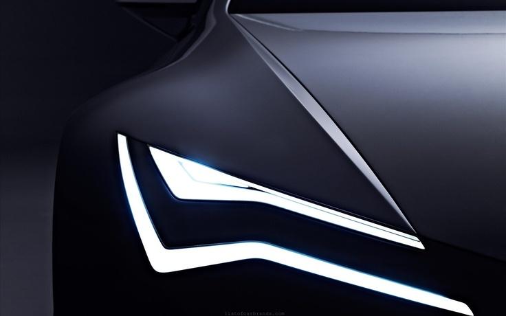Seat IBE Concept headlights