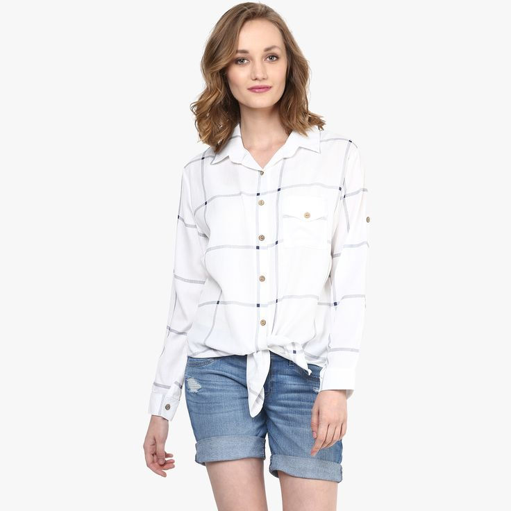 Jessica Knotted Shirt
