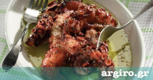 Βραστό χταπόδι ξυδάτο από την Αργυρώ Μπαρμπαρίγου | Παραδοσιακή συνταγή για πεντανόστιμο χταποδάκι λαδορίγανη, ιδανική για τις μέρες της νηστείας!