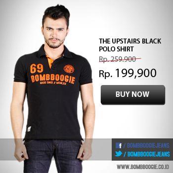 Mau tampil keren? Hanya dengan Polo Shirt Bombboogie pastinya. Check this out : www.bombboogie.co.id