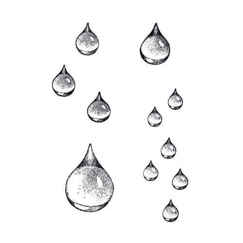 Raindrop Set (CM-T10) ~ Four Pieces