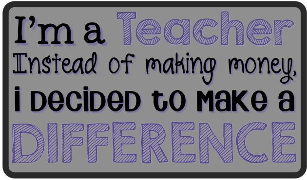 Teaching Quotes Pinterest: First Grade Smiles: We Make A Difference!