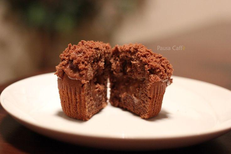 Muffin ripieni al cioccolato