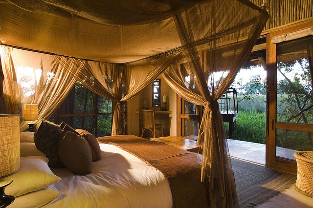 Sandibe Safari Lodge, Okavango Delta, Botswana by safari-partners, via Flickr