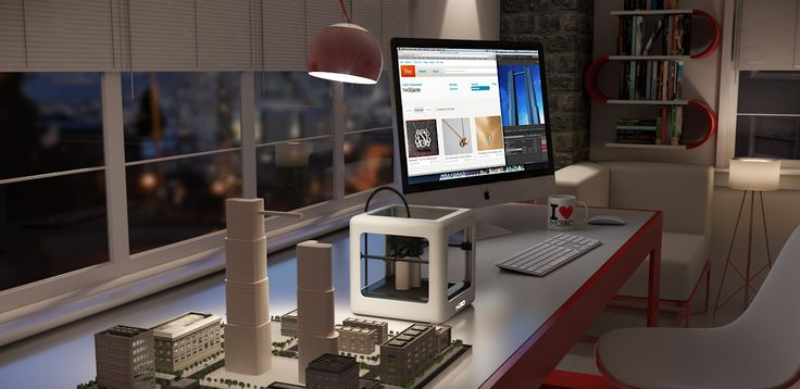 Micro 3D Printer for work & play