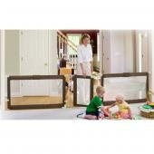 $99.95-$109.99 Summer Infant Sure And Secure Custom Fit Gate - The Sure Secure? Custom Fit Gate is hardware-mounted for extra security and strength. It?s perfect for keeping your chidren safe and it?s also a wonderful room barrier for pets.  It is JPMA certified and is the first gate to actually fit openings up to 12 feet with no other purchase necessary.  It?s wonderful for petitioning off a lar ...