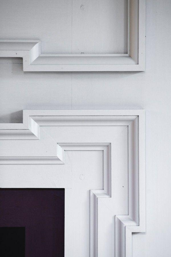 Reproduction of Main Entry, Plank Frame Windows, Sash and Interior Paneled Walls