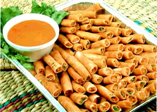 Lumpia...tried these at the fair a couple of years ago...delicious!!!