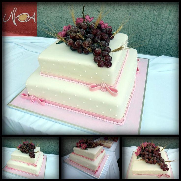 Cake Decorating New Westminster : Pastel de primera comunion terminado en fondant. Primera ...