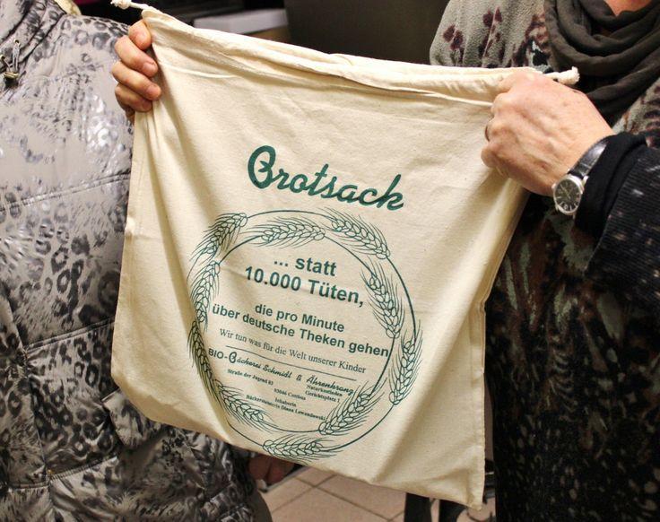 A Christmas Stollen gift bag, Cottbus
