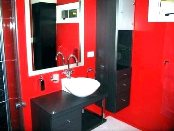 39 Cool And Bold Red Bathroom Design Ideas With Images Gothic