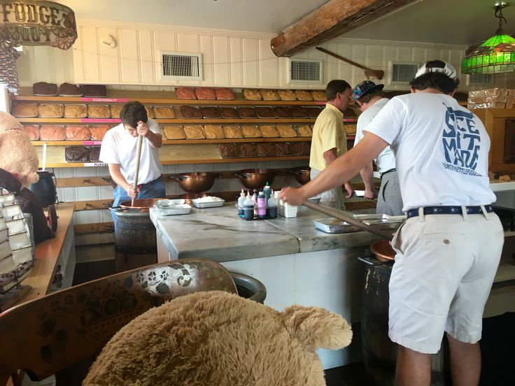 9/2016 John Maschal's Country Kettle Fudge. I can watch these guys making fudge all day -- and don't even get me started on the wonderful aroma that wafts from this place