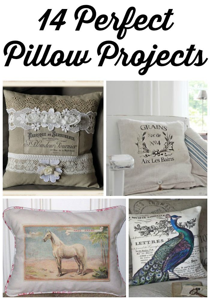 14 Perfect Pillow Projects - The Graphics Fairy