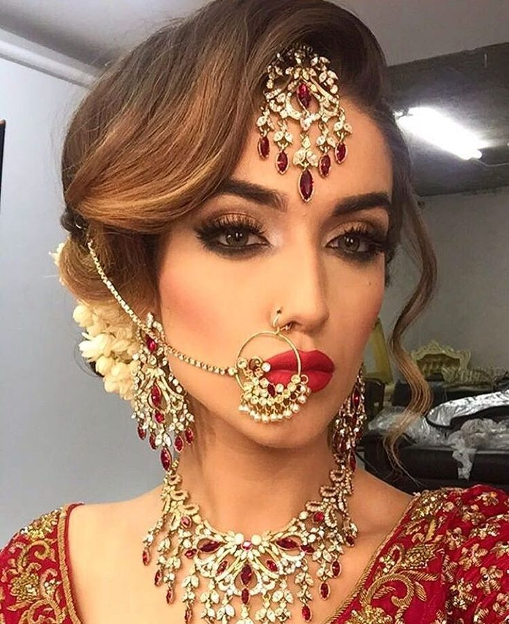 indian wedding hairstyle gallery%0A Hair only  Wave over tikka