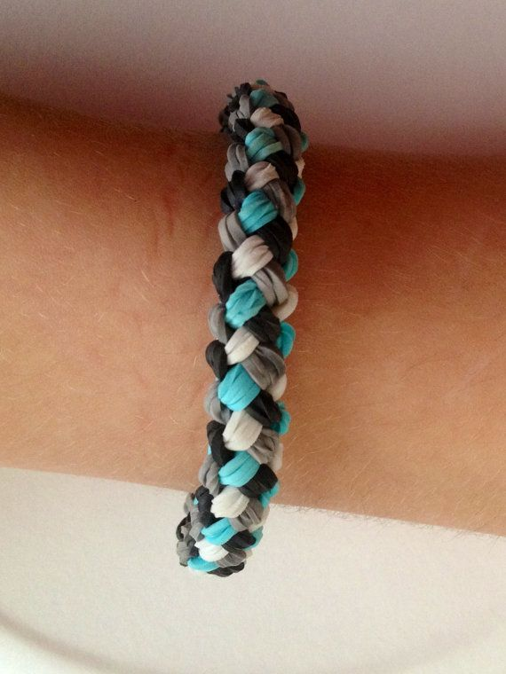 How To Make The Basket Weave Rainbow Loom : Weave bracelet by emmascoolcreations on etsy made