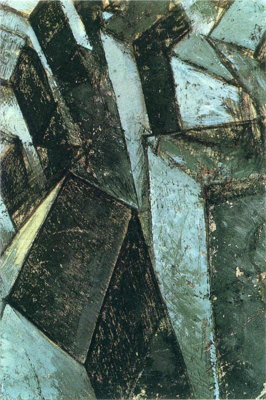 not identified-Mario Sironi - by style - Cubism