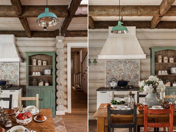 Настоящая дача: двум декораторам удалось создать интерьер с характером - здесь немного от французского шале, деревенского дома и английского коттеджа