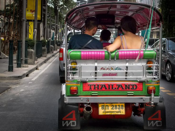 Essence of Bangkok; take a ride and be taken for a ride by one of the many Bangkok Tuk Tuks.