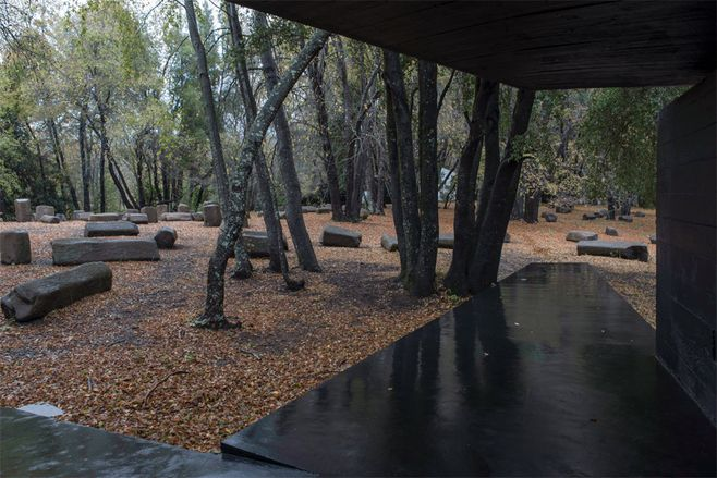casa para o poema do ângulo reto, no chile | projeto: smiljan radic | fotos gonzalo puga