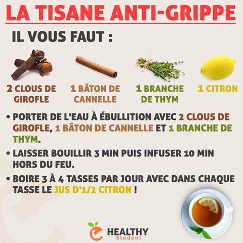 Tisane antique grippe