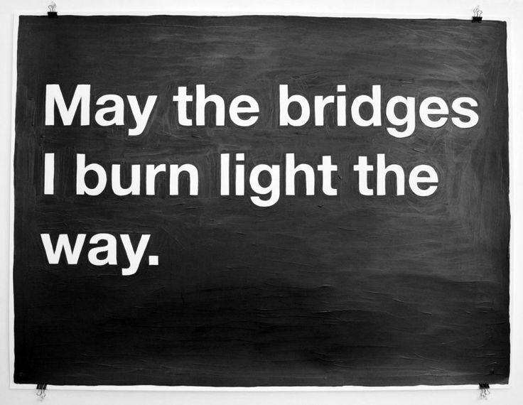 Trebamo li rušiti mostove za sobom?