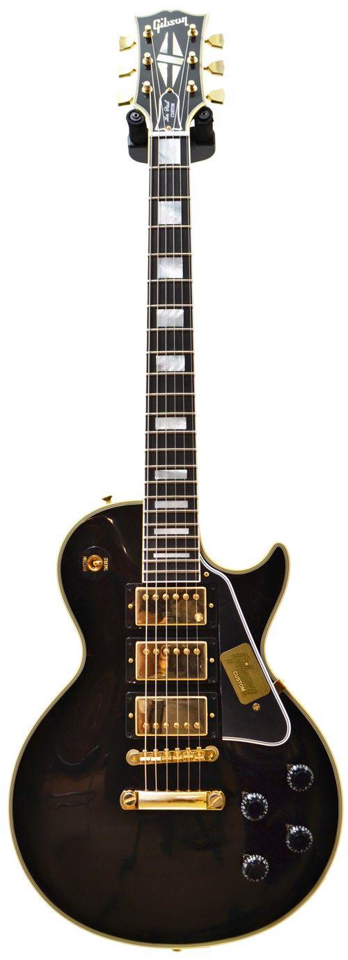 Gibson 1957 Les Paul Custom Reissue 3 Pickup VOS Ebony Fingerboard #74806 Main…