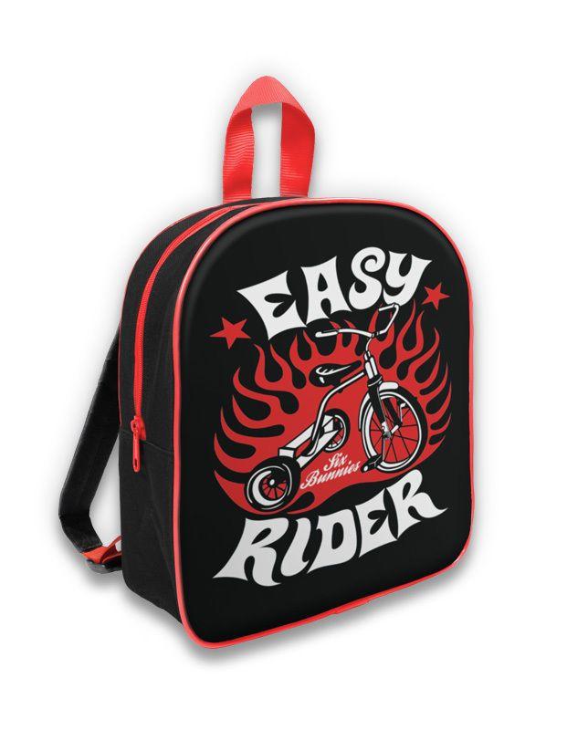Six Bunnies Back Pack  Easy Rider.Oldschool,Tattoo,Biker,Pin up,Custom Styles