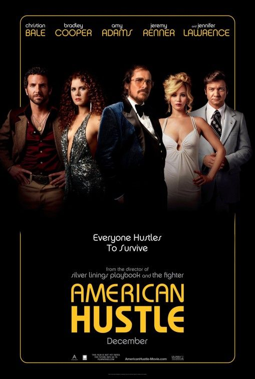 American Hustle - entertaining and some good performances - but worthy of all those Oscar nominations? Not in my books. Three and a half stars, because the acting was good.