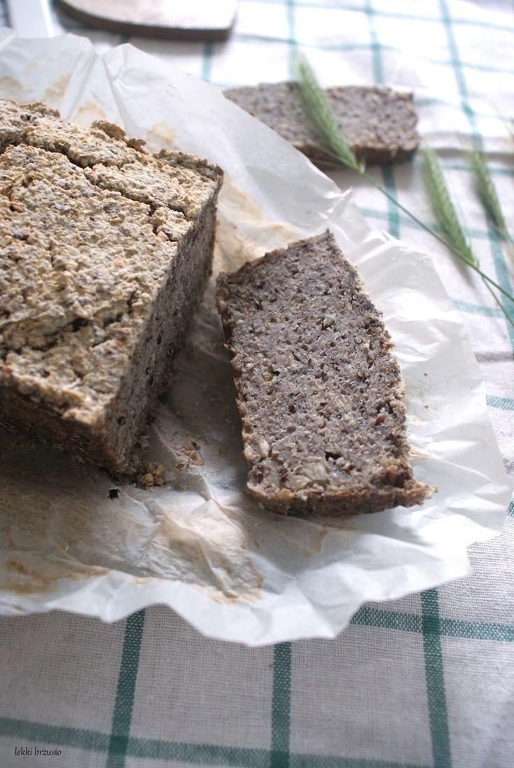 Lekki brzusio.: Chleb z kaszy gryczanej